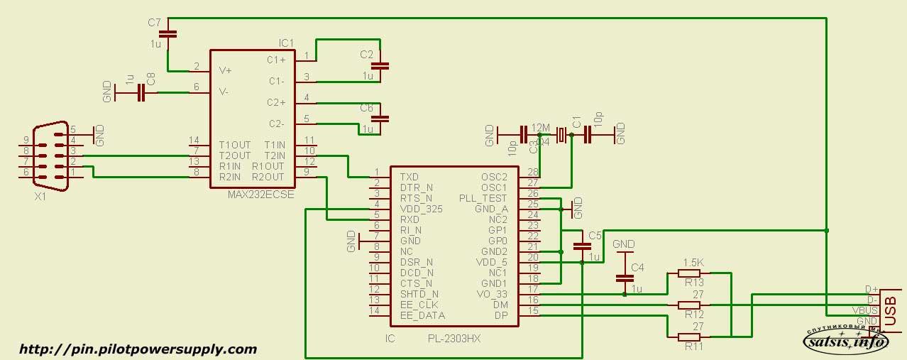 распиновка разъемов, распайка разъема, интерфейс rs232, rs .