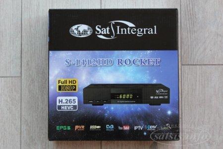 Обзор Sat-Integral S-1412 HD Rocket