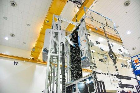 Eutelsat 7C в финальной стадии перед стартом